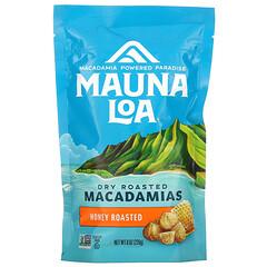 Mauna Loa, 乾烤澳洲堅果,蜂蜜烤,8 盎司(226 克)