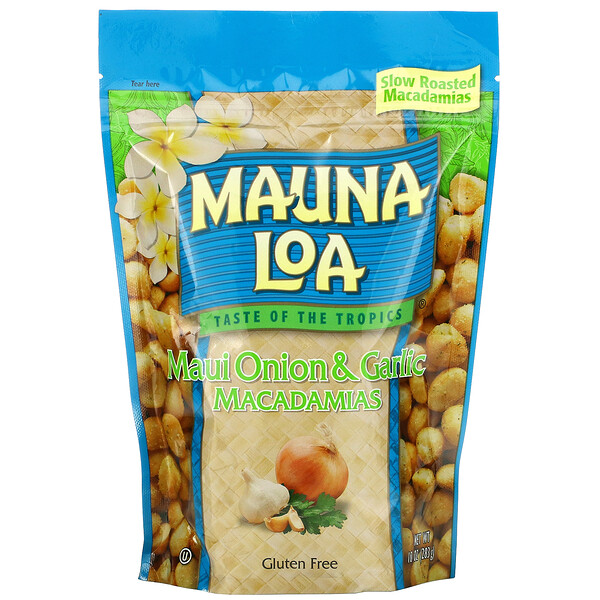 Maui Onion & Garlic Macadamias, 10 oz (283 g)