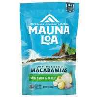 Mauna Loa, Dry Roasted Macadamias, Maui Onion & Garlic, 8 oz (226 g)