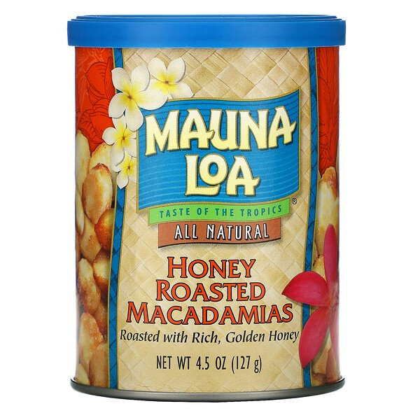 Honey Roasted Macadamias, 4.5 oz (127 g)