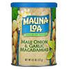 Mauna Loa, マウイオニオン&ガーリックマカダミア、127g(4.5オンス)