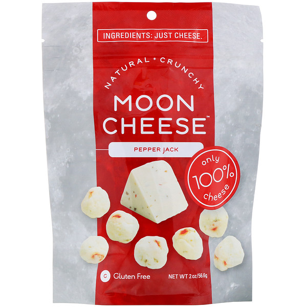 Moon Cheese, Pepper Jack, 2 oz (56,6 g) (Discontinued Item)