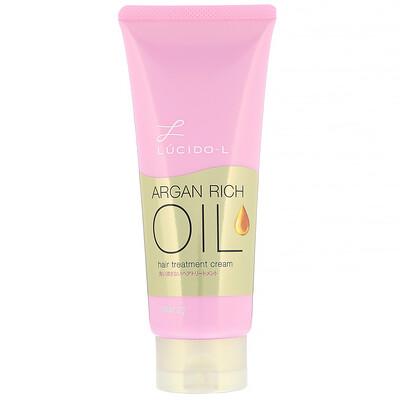 Купить Mandom Lucido-L, Argan Rich Oil, крем для ухода за волосами, 150мл
