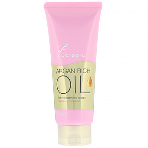 Mandom, Lucido-L, Argan Rich Oil, Hair Treatment Cream, 5.2 oz (150 g) отзывы