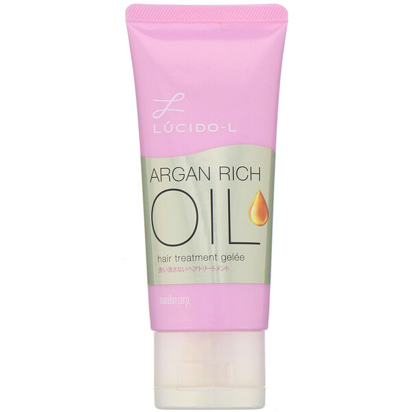 Mandom, Lucido-L, Argan Rich Oil, Hair Treatment Gel, 2.8 oz (80 g)