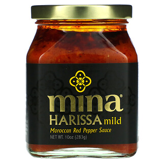 Mina, Harissa Mild, Moroccan Red Pepper Sauce, 10 oz (283 g)