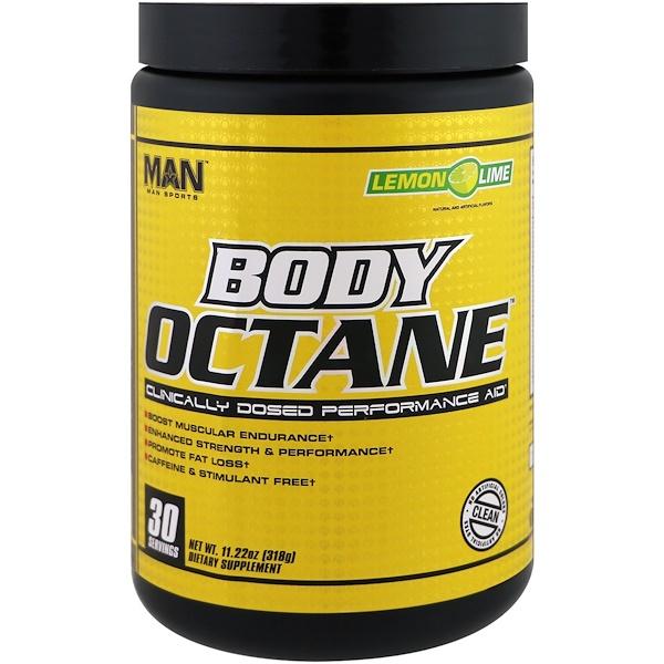 MAN Sports, Body Octane,檸檬酸橙,11、22盎司(318克)