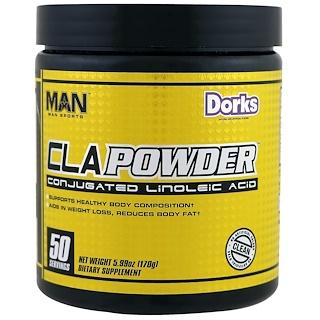 MAN Sports, CLA Powder, Conjugated Linoleic Acid, Dorks, 5.99 oz (170 g)