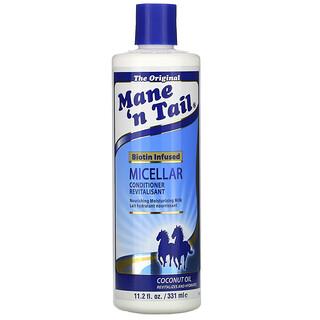 Mane 'n Tail, Micellar Conditioner, Biotin Infused, Coconut Oil, 11.2 fl oz (331 ml)