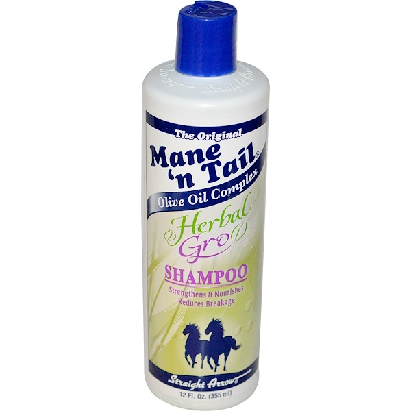 Mane 'n Tail, Xampu Herbal Gro, 12 onças fluidas (355 ml)