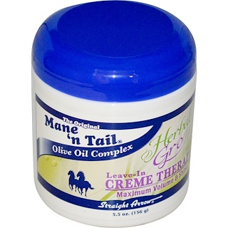 Mane 'n Tail, Herbal Gro, Leave-In Creme Therapy, 5.5 أونصة (156 غ)