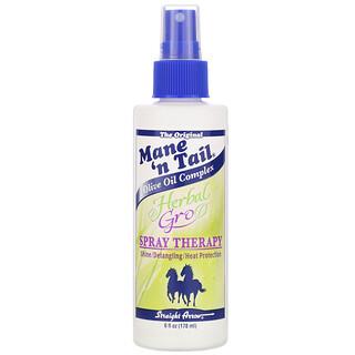 Mane 'n Tail, Herbal Gro, Восстанавливающий спрей, 6 жидких унций (178 мл)