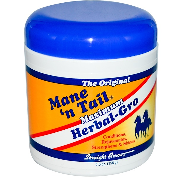 Mane 'n Tail, マキシマム ハーブグロ, 5.5 oz (156 g) (Discontinued Item)