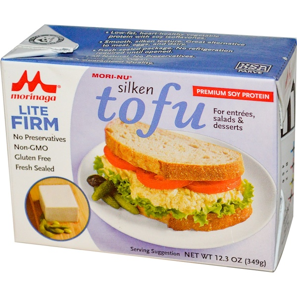 Mori-Nu, Silken Tofu, Lite Firm, 12.3 oz (349 g) (Discontinued Item)