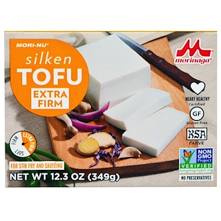 Mori-Nu, Silken Tofu, Extra Firm, 12.3 oz (349 g)
