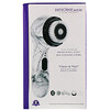 Michael Todd Beauty, Soniclear Petite, Antimicrobial Sonic Skin Cleansing System, White Marble, 5 Piece Kit