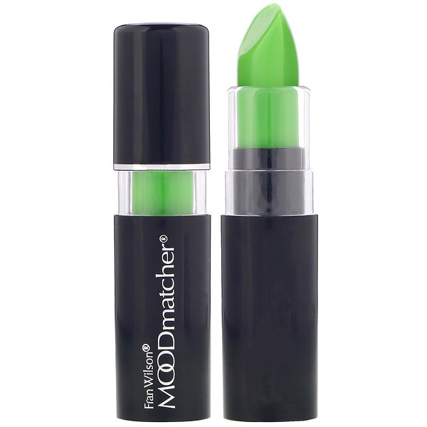 Lipstick, Green, 0.12 oz (3.5 g)