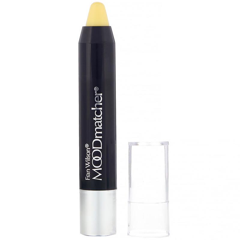 MOODmatcher, 旋轉唇膏筆,唇彩,黃色,0.10 盎司(2.9 克)