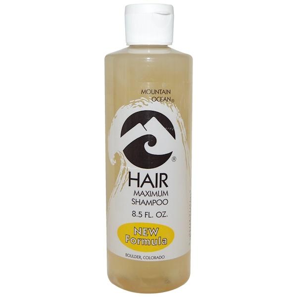 Mountain Ocean, Hair Maximum Shampoo, 8.5 fl oz (Discontinued Item)