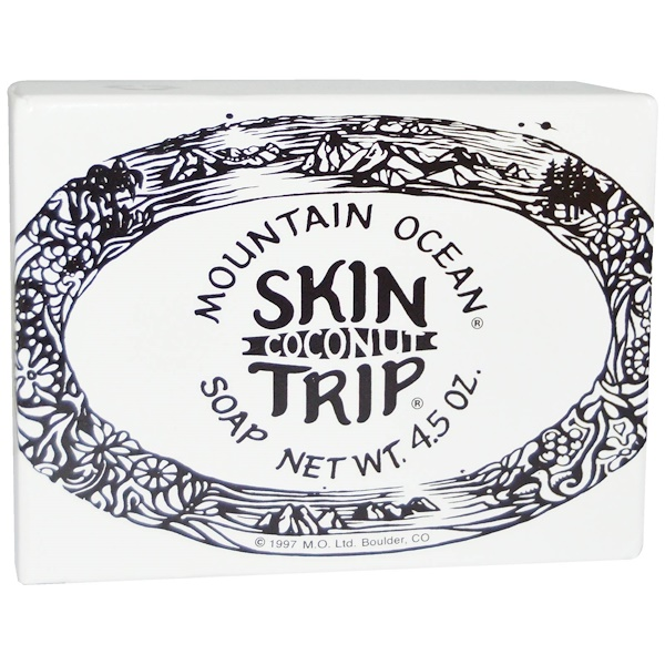 Mountain Ocean, Skin Trip, Coconut Soap, 4.5 oz Bar (Discontinued Item)