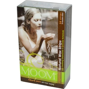 Мум, Natural Wax Strips, with Soothing Chamomile & Lavender Botanicals, 20 Strips отзывы