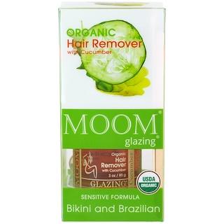 Moom, Organic Hair Remover with Cucumber, Bikini and Brazilian, 3 oz (85 g)