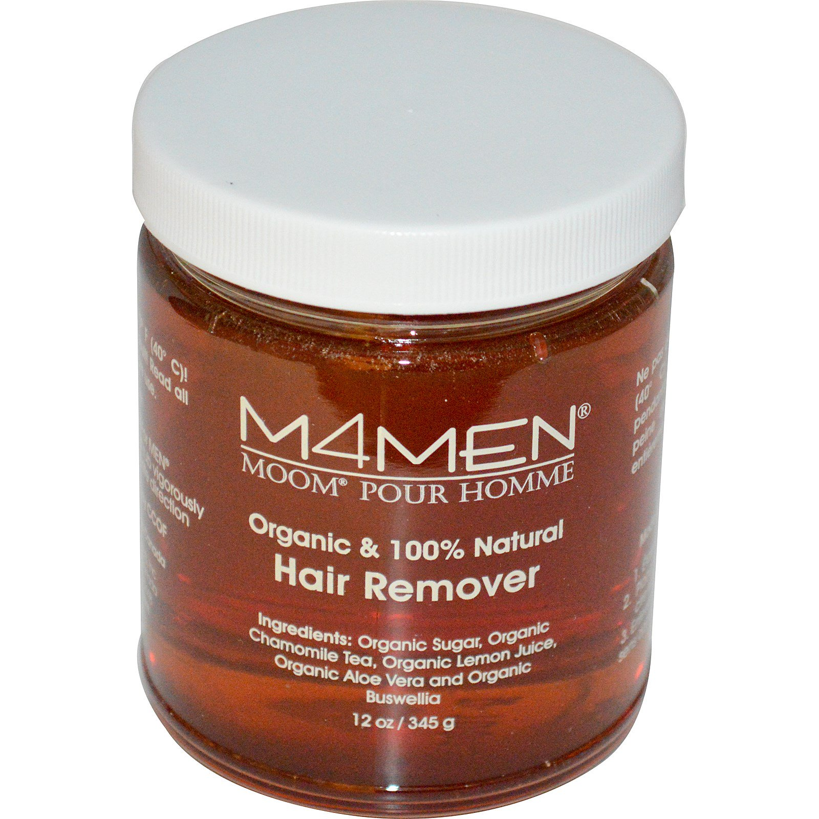 Moom, M4Men, Средство для удаления волос у мужчин, 12 унций (345 g)