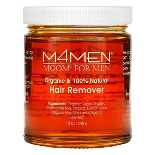 Moom, M4Men, Hair Remover, for Men (Removedor de Cabello, Para Hombres) , 12 oz (345 g)