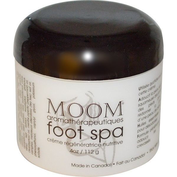 Moom, Aromatherapy Foot Spa, 4 oz (112g) (Discontinued Item)