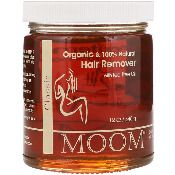 Moom, Hair Remover, with Tea Tree Oil, Classic, 12 oz (345 g)