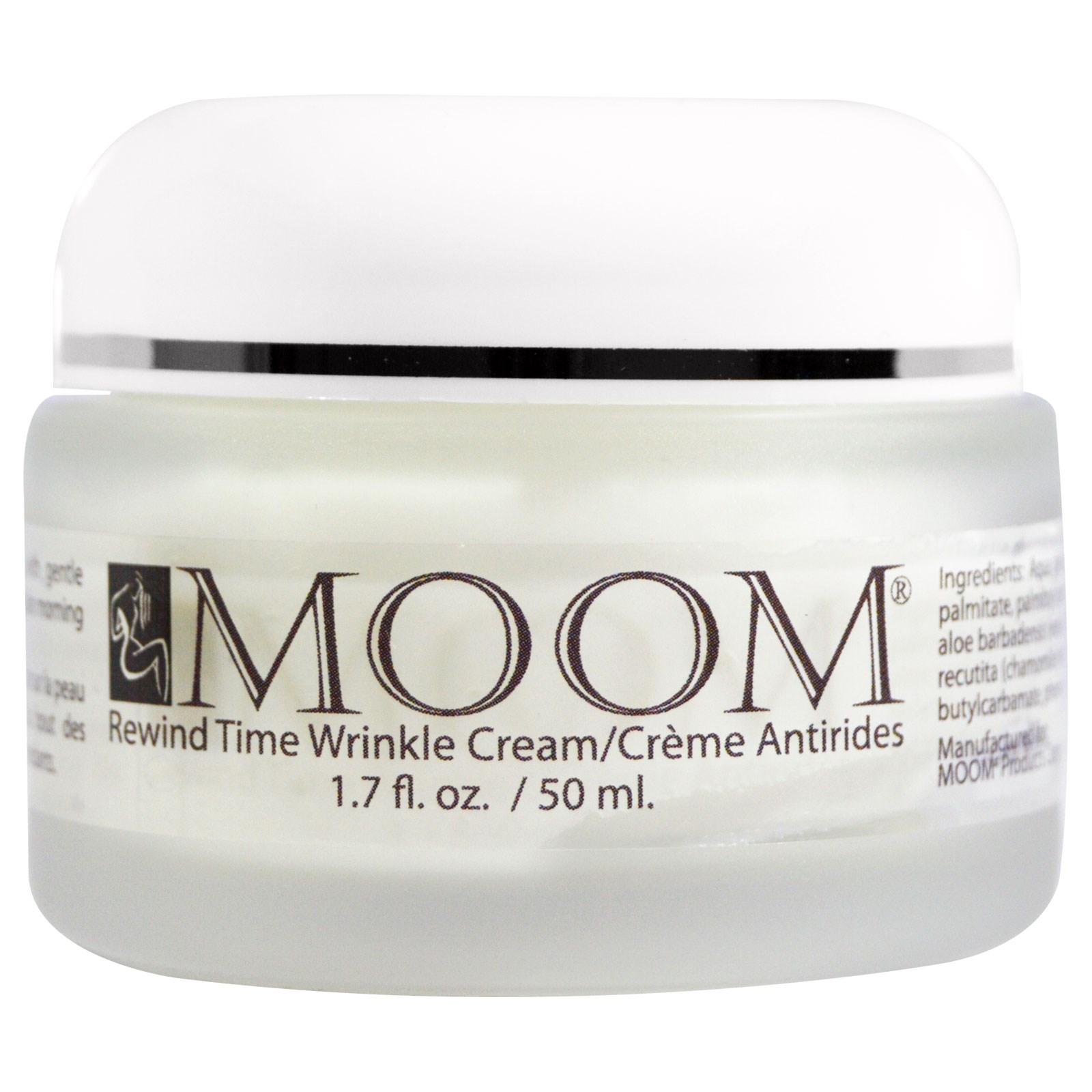 Moom, Антивозрастрной крем против морщин, 1,7 жидких унций (50 мл)