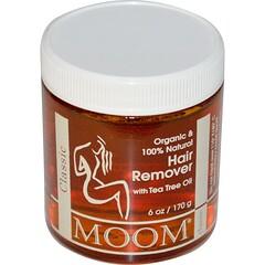 Moom, 茶樹油脫毛膏,6盎司(170克)