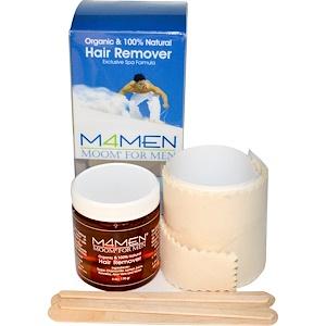 Мум, Organic Moom For Men, Hair Remover Kit, 6 oz (170 g) отзывы покупателей