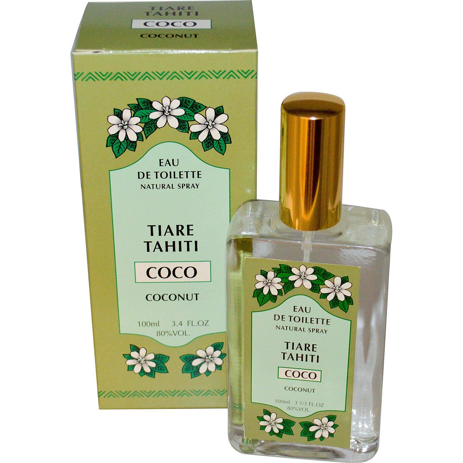 De 4 Monoi TahitiEau Fl Tiare ToiletteperfumeSprayCoconut3 v0OmN8nw