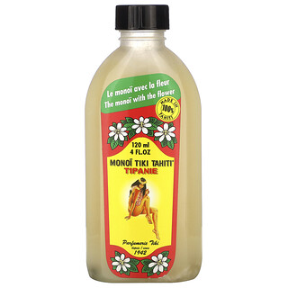 Monoi Tiare Tahiti, Coconut Oil, Tipanie (Plumeria) , 4 fl oz (120 ml)