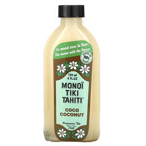 моной Тиаре Тахити, Coconut Oil, Coco Coconut, 4 fl oz (120 ml) отзывы покупателей