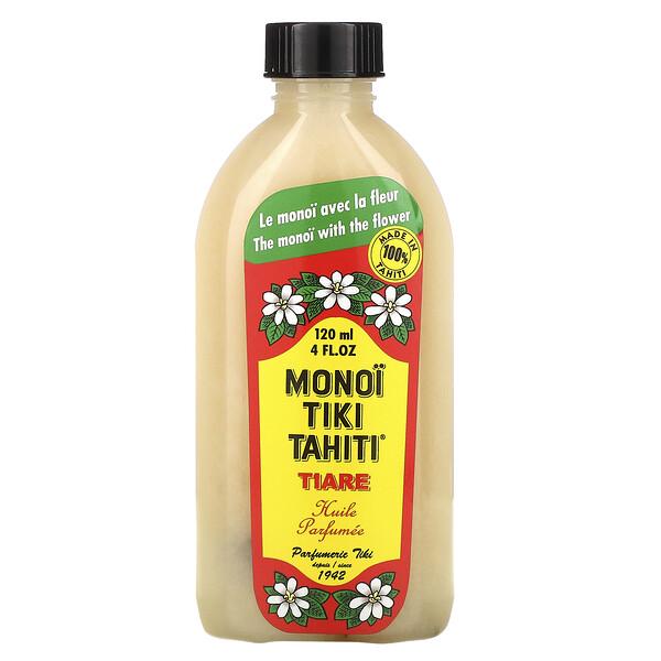 Coconut Oil, Tiare (Gardenia), 4 fl oz (120 ml)