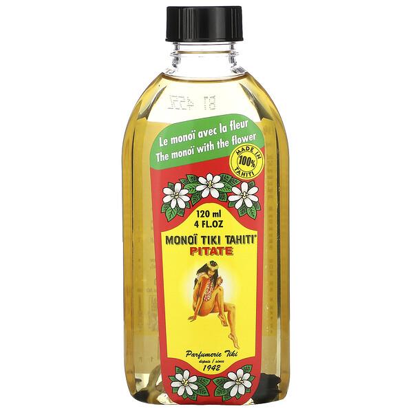 Coconut Oil, Pitate (Jasmine), 4 fl oz (120 ml)