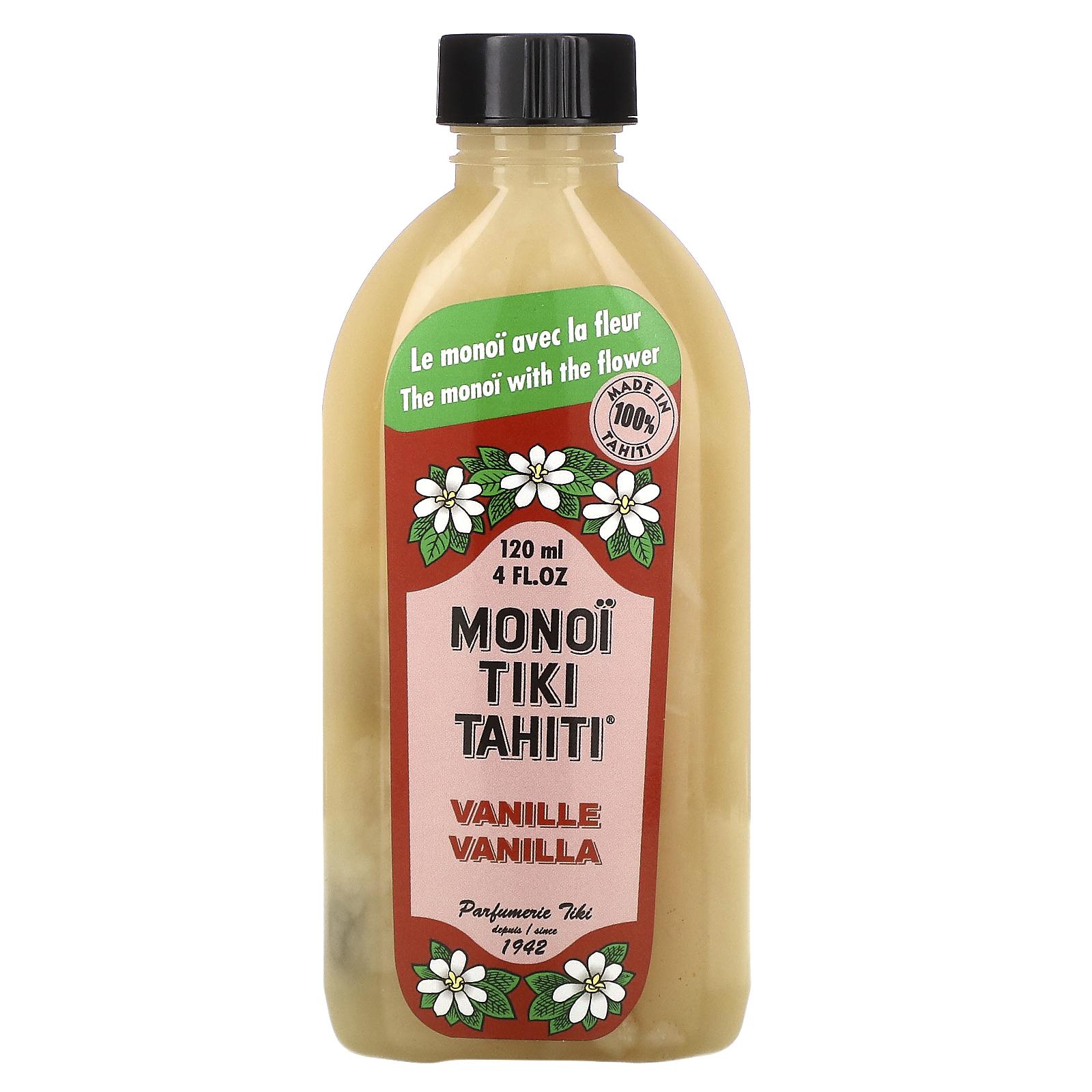 12+ Monoi Tiare Tahiti, Coconut Oil, Vanilla, 8 fl oz 8 ml   iHerb Fotografie