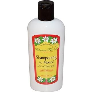 Monoi Tiare Tahiti, Parfumerie Tiki, Monoi Shampoo, Tiare (Gardenia), 8.45 fl oz (250 ml)