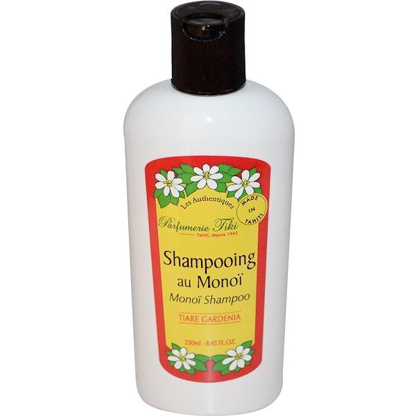 Monoi Tiare Tahiti, Parfumerie Tiki, Monoi Shampoo, Tiare (Gardenia), 8.45 fl oz (250 ml) (Discontinued Item)