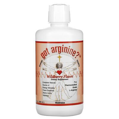 Morningstar Minerals Got Arginine?, Wildberry, 32 fl oz (946 ml)