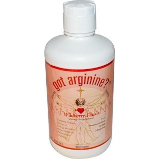 Morningstar Minerals, ゴット・アルギニン?™ , ワイルドベリー味, 32 液量オンス (946 ml)