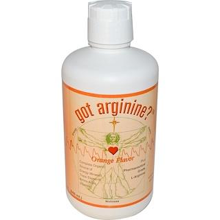 Morningstar Minerals, ゴットアルギニン?(Got Arginine?)、 オレンジ味、32 fl oz (946 ml)