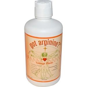 морнингстар минералс, Got Arginine?, Orange Flavor, 32 fl oz (946 ml) отзывы