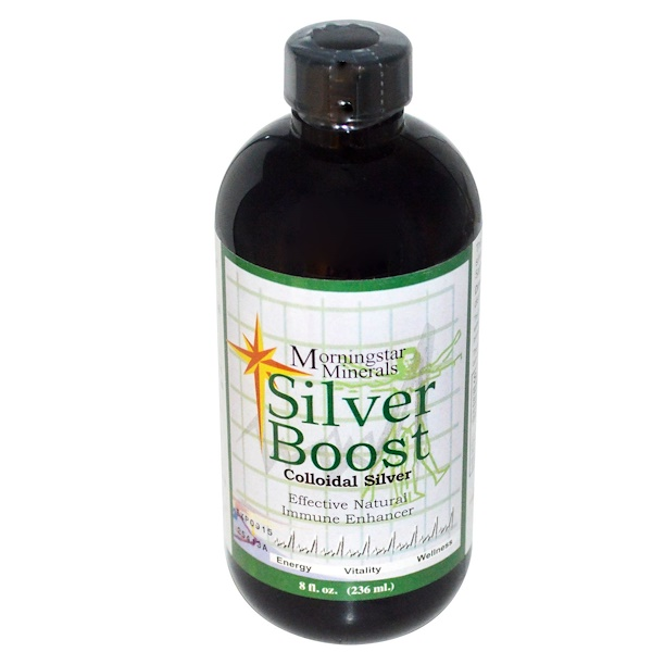 Silver Boost, Colloidal Silver, 8 fl oz (236 ml)