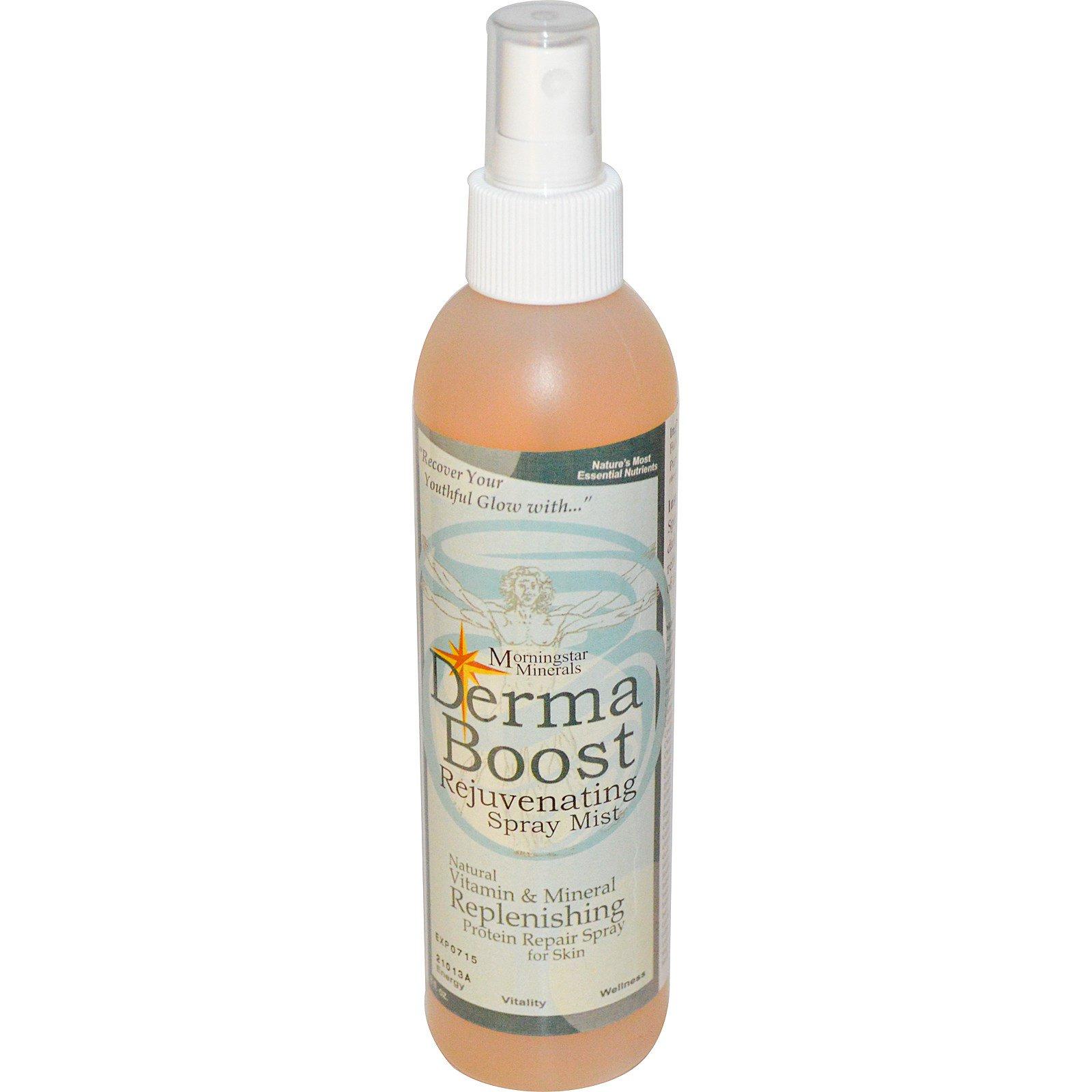 Morningstar Minerals, Энергия кожи, Восстанавливающий спрей, 8 жидких унций