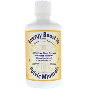 морнингстар минералс, Energy Boost 70, Fulvic Minerals, 32 fl oz (946 ml) отзывы покупателей