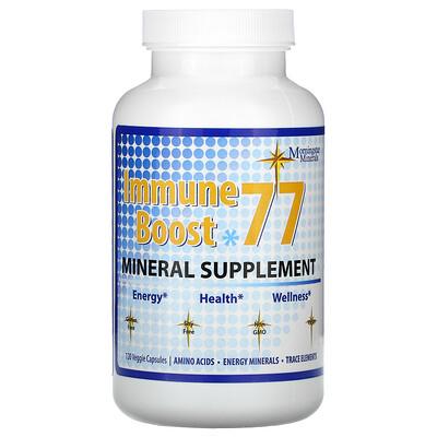 Morningstar Minerals Immune Boost 77, минеральная добавка, 120 вегетарианских капсул