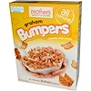 Mother's, Crunchy Corn Cereal, Graham Bumpers, 9.6 oz (272 g) (Discontinued Item)